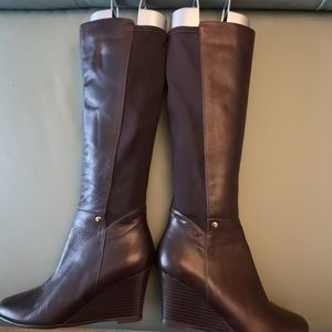 Browns wedge boots